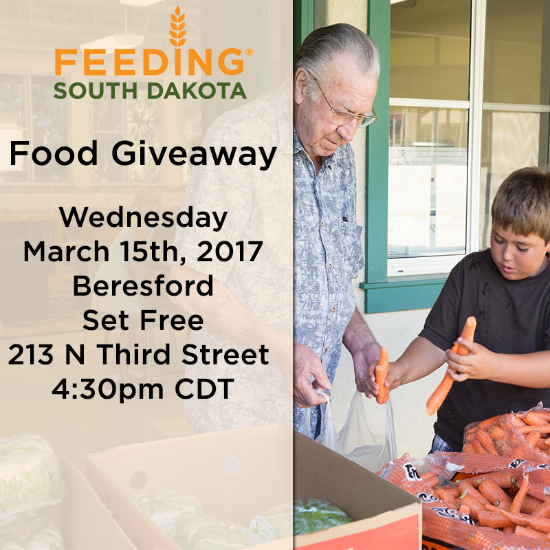 Beresford Community Food Giveaway