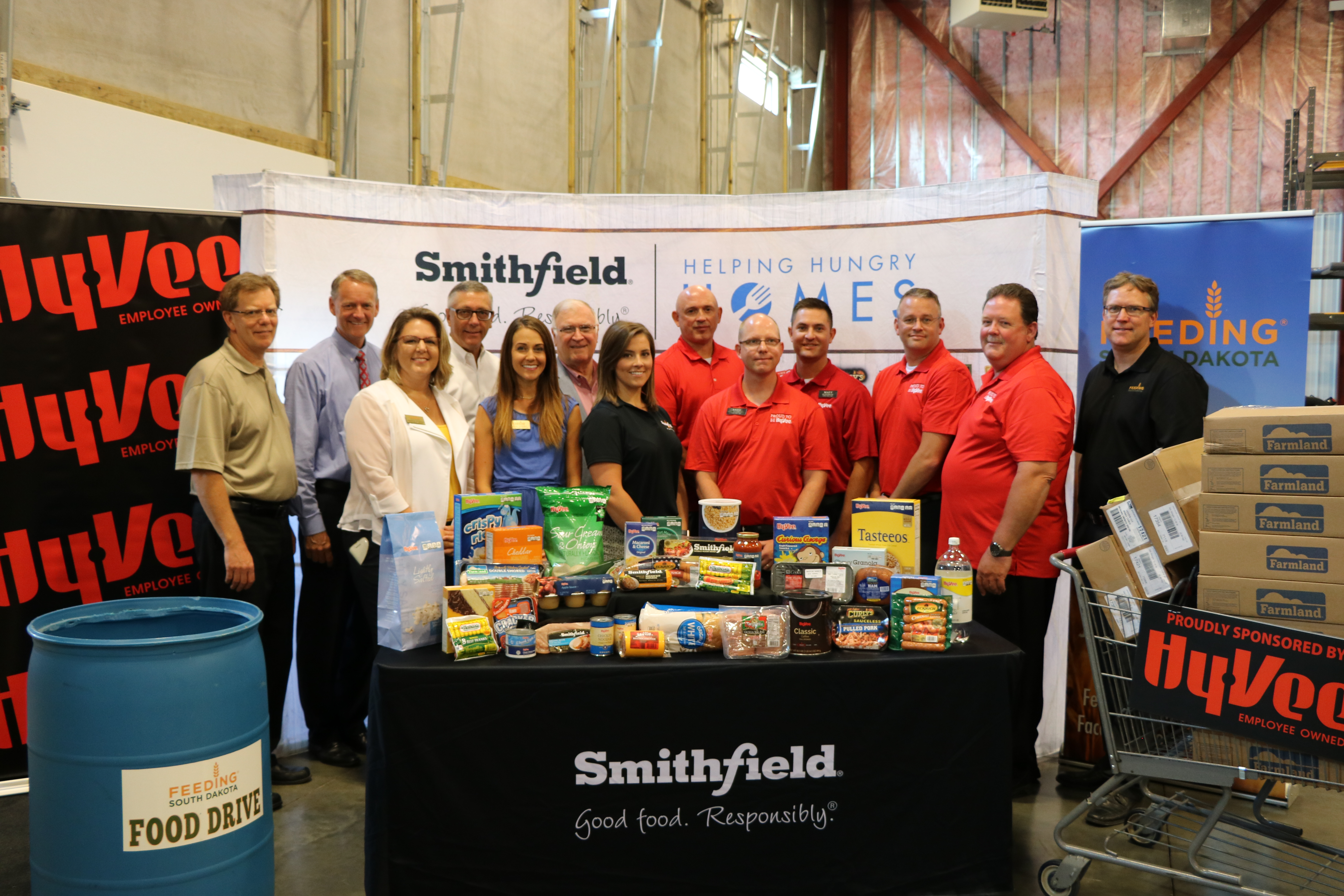 Smithfield Foods partner with Hy-Vee to donate more than 35,000 pounds of protein