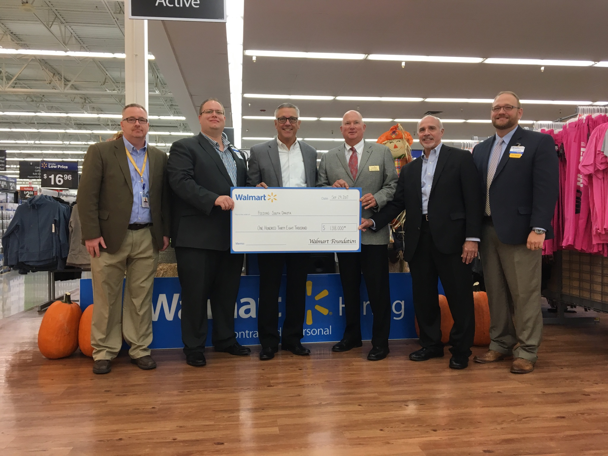 Walmart Helps Fight Hunger By Donating Over 100K To Feeding South Dakota